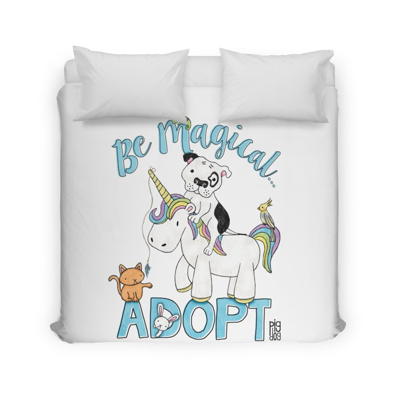 Be Magical Home Duvet by Pigdog
