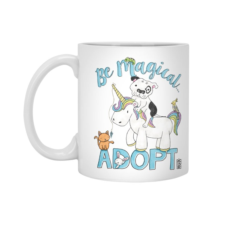 Be Magical Accessories Standard Mug by Pigdog