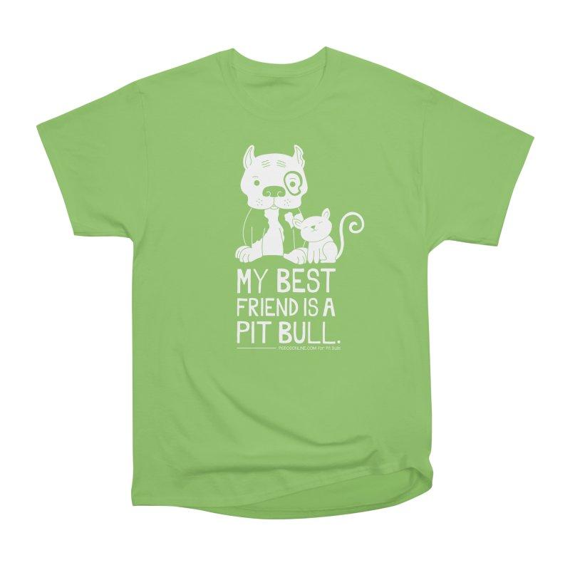 Pittie and Kitty Best Friend Women's T-Shirt by Pigdog