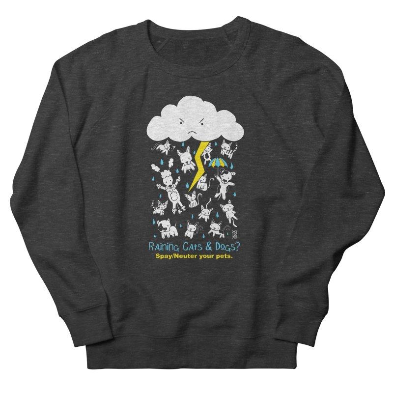 Raining Cats And Dogs Women's Sweatshirt by Pigdog