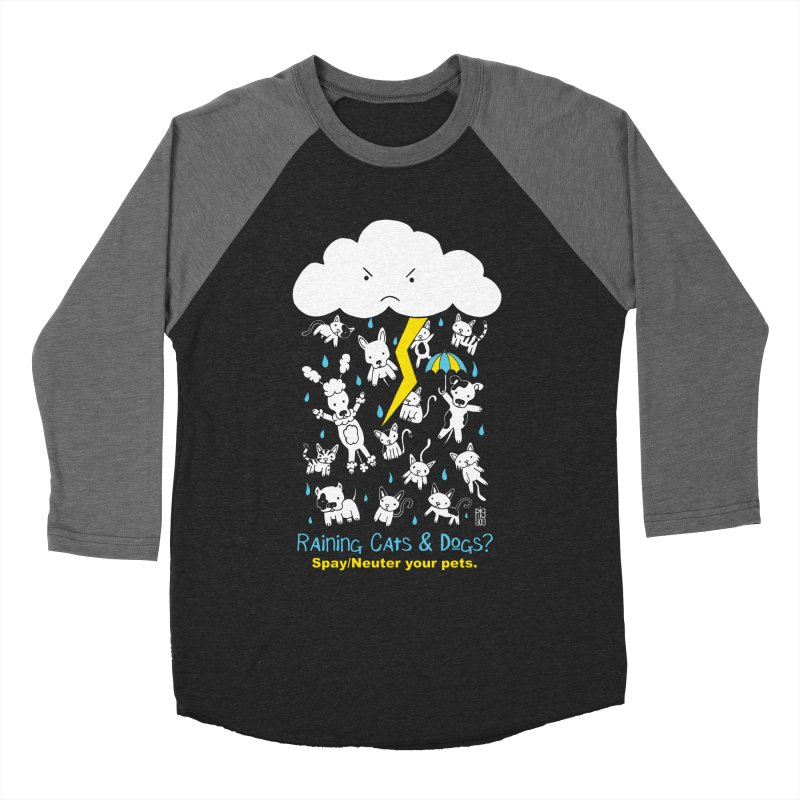 Raining Cats And Dogs Women's Longsleeve T-Shirt by Pigdog