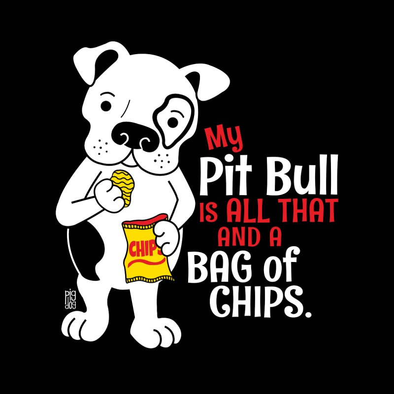 Bag of Chips Home Fine Art Print by Pigdog