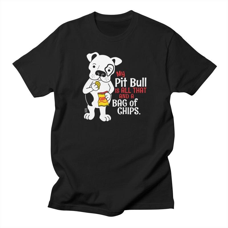 Bag of Chips Men's T-Shirt by Pigdog