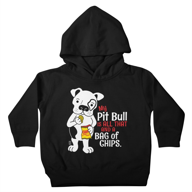 Bag of Chips Kids Toddler Pullover Hoody by Pigdog