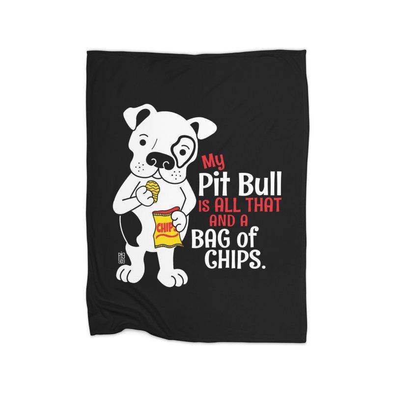 Bag of Chips Home Blanket by Pigdog