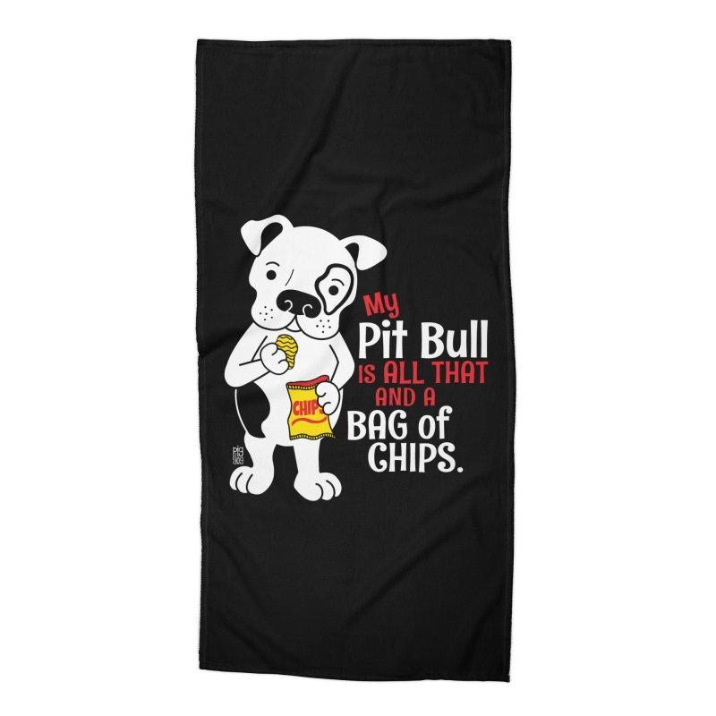 Bag of Chips Accessories Beach Towel by Pigdog