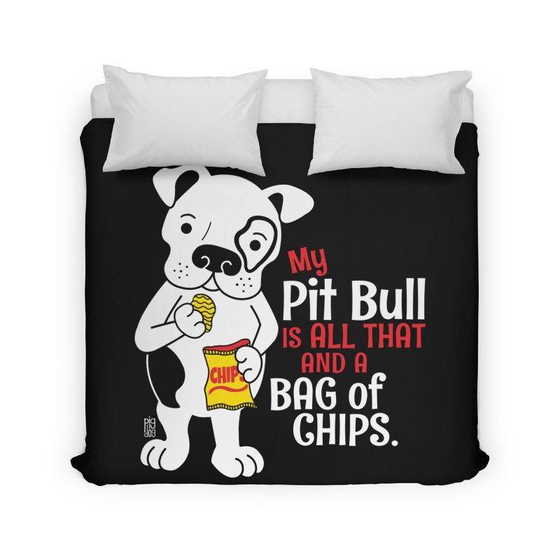 Bag of Chips Home Duvet by Pigdog