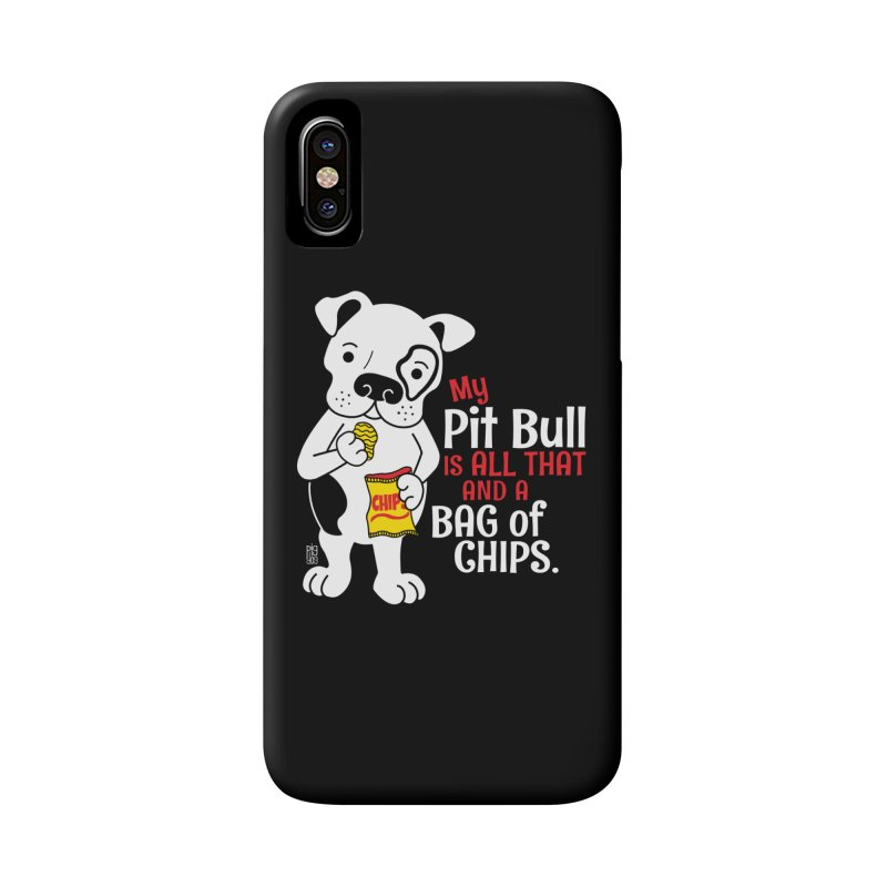 Bag of Chips Accessories Phone Case by Pigdog