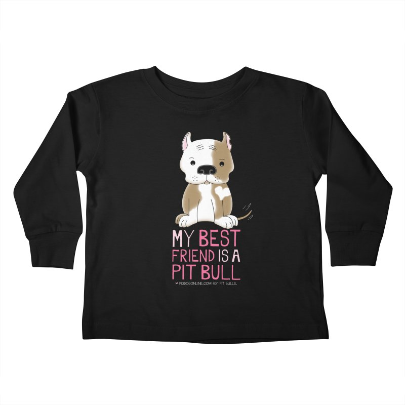 Best Friend Kids Toddler Longsleeve T-Shirt by Pigdog