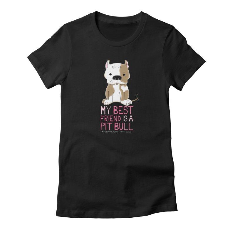 Best Friend Women's T-Shirt by Pigdog