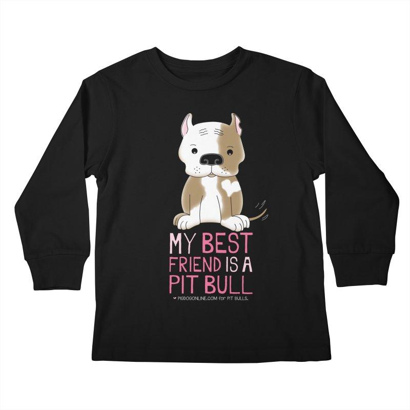 Best Friend Kids Longsleeve T-Shirt by Pigdog