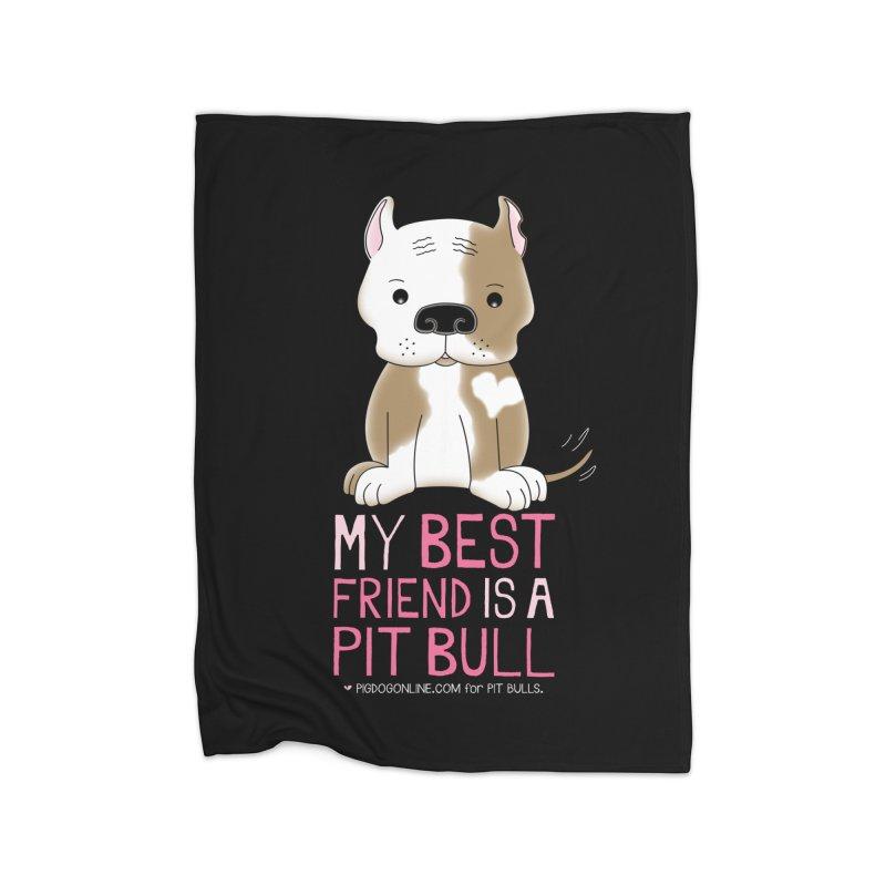 Best Friend Home Blanket by Pigdog