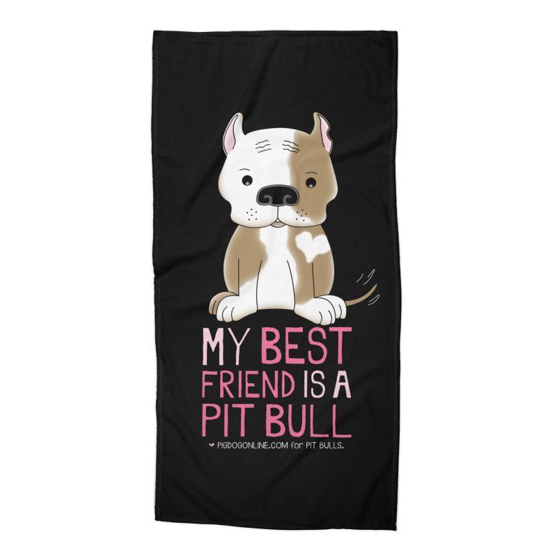 Best Friend Accessories Beach Towel by Pigdog