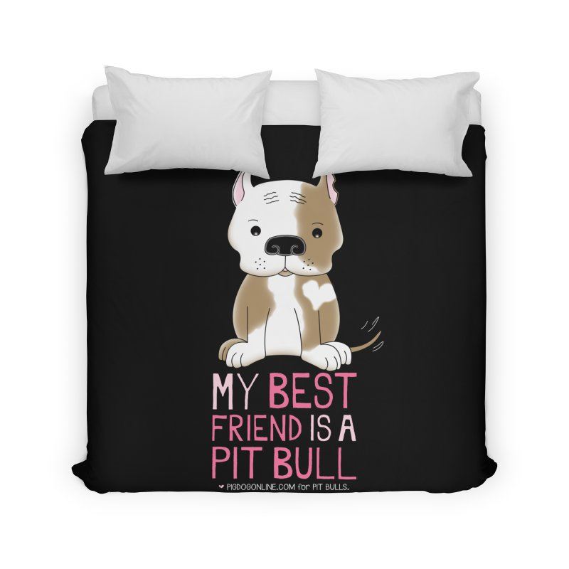 Best Friend Home Duvet by Pigdog