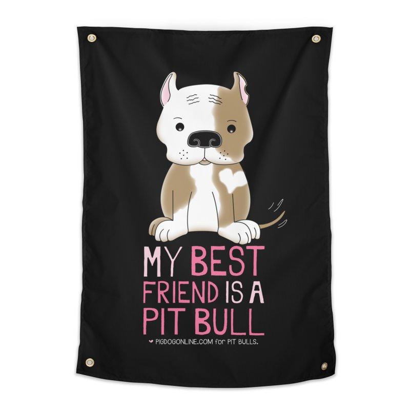 Best Friend Home Tapestry by Pigdog