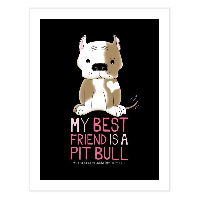Best Friend Home Fine Art Print by Pigdog