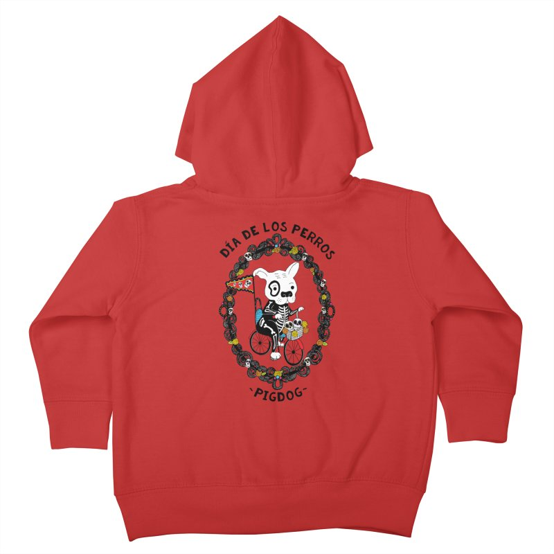Day of the Dogs Kids Toddler Zip-Up Hoody by Pigdog
