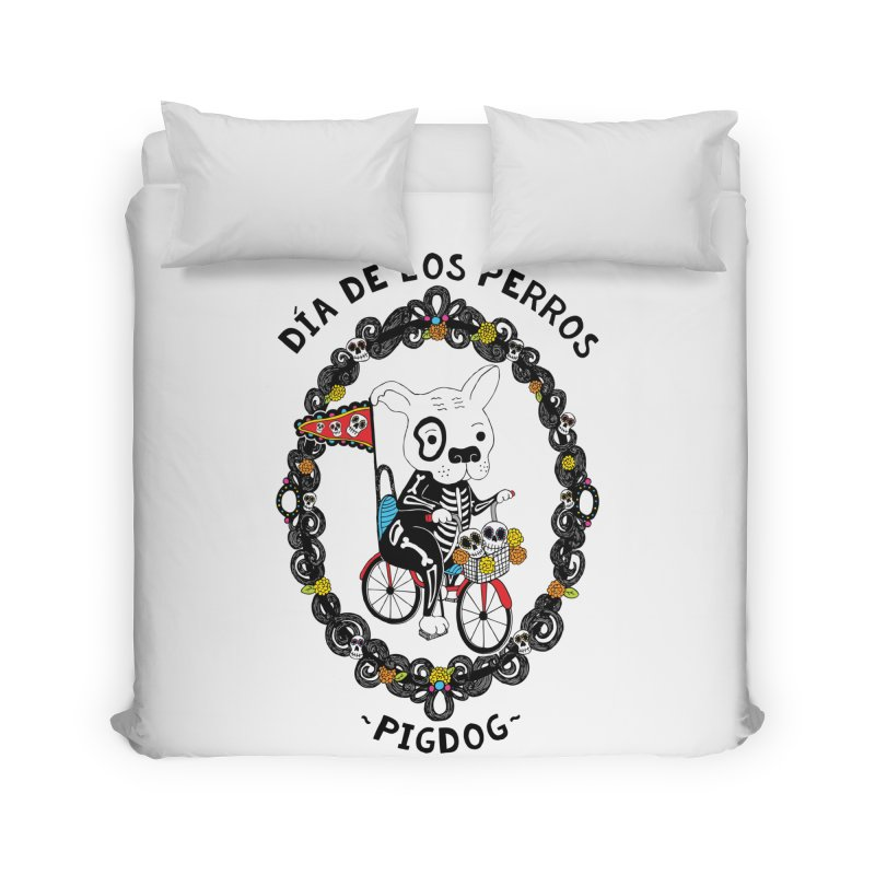 Day of the Dogs Home Duvet by Pigdog