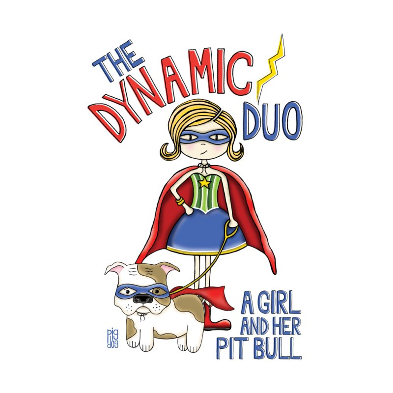 Dynamic Duo Home Framed Fine Art Print by Pigdog