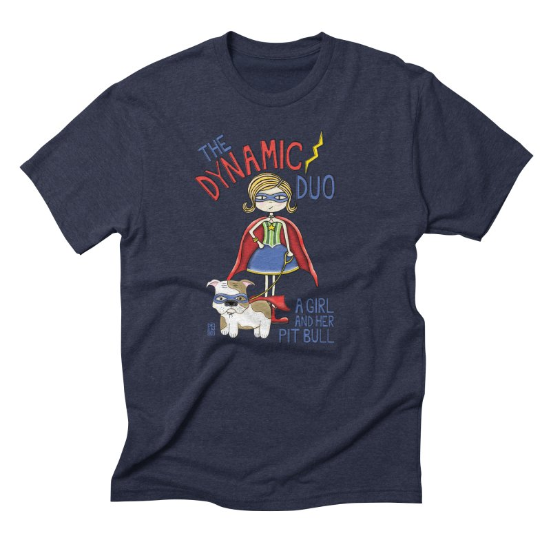 Dynamic Duo Men's T-Shirt by Pigdog
