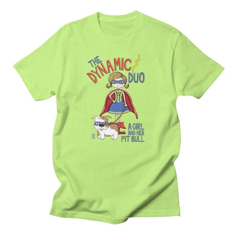 Dynamic Duo Men's T-Shirt by Pigdog