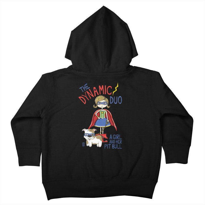 Dynamic Duo Kids Toddler Zip-Up Hoody by Pigdog