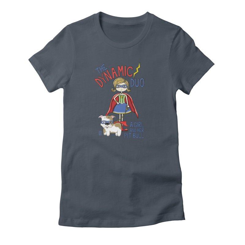 Dynamic Duo Women's T-Shirt by Pigdog
