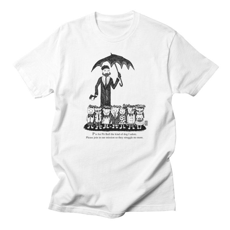 Gorey Homage Men's T-Shirt by Pigdog