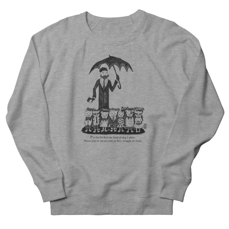 Gorey Homage Women's French Terry Sweatshirt by Pigdog