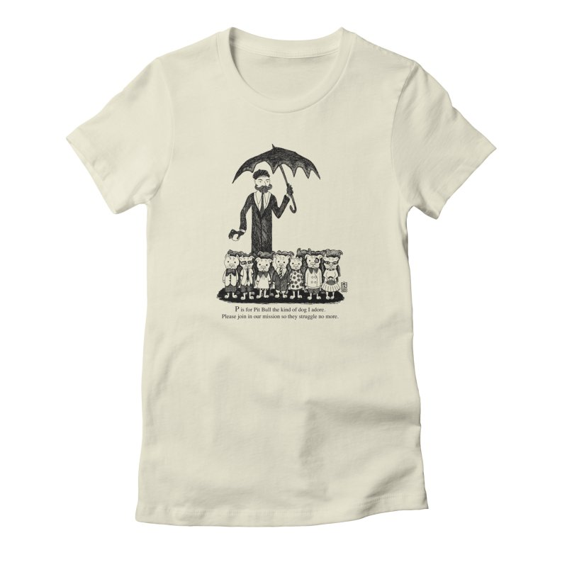 Gorey Homage Women's T-Shirt by Pigdog