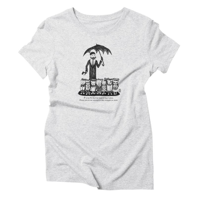 Gorey Homage Women's T-Shirt by Pigdog