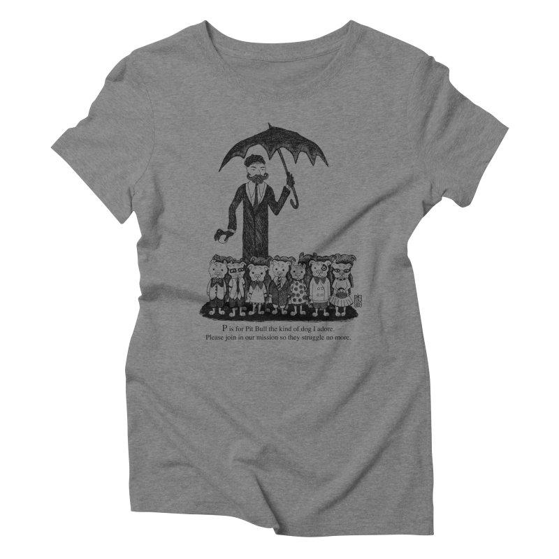 Gorey Homage Women's Triblend T-Shirt by Pigdog