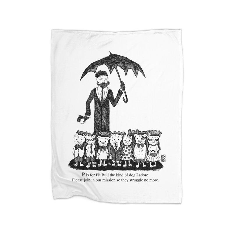 Gorey Homage Home Blanket by Pigdog