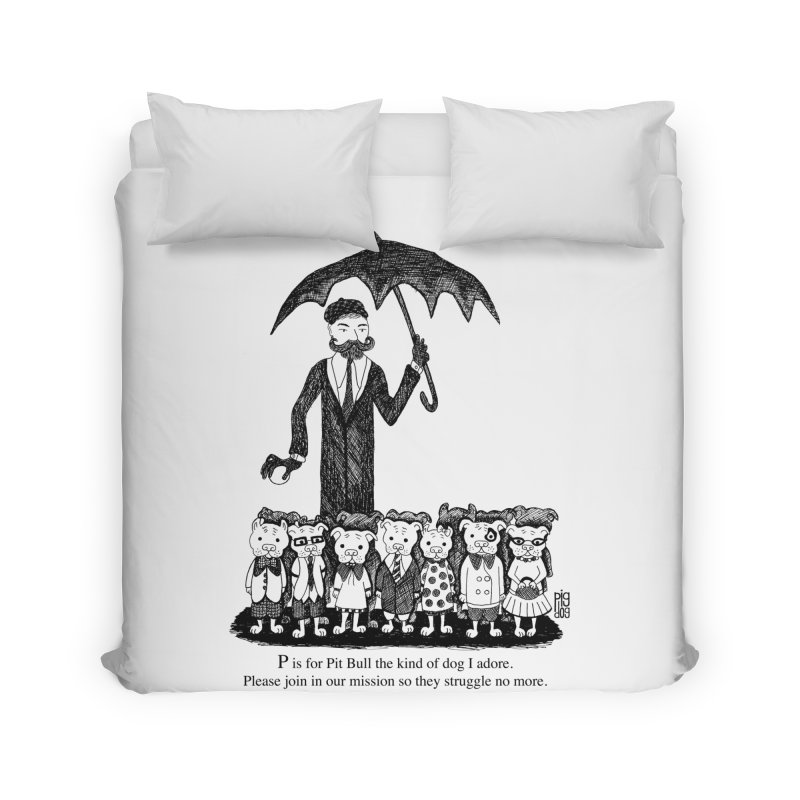 Gorey Homage Home Duvet by Pigdog
