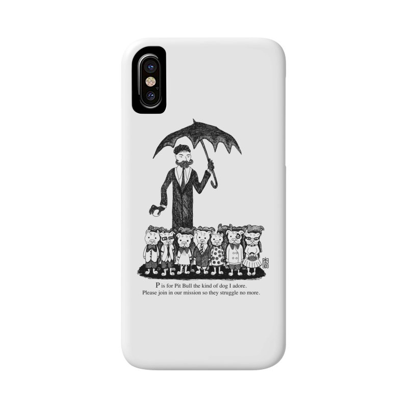 Gorey Homage Accessories Phone Case by Pigdog