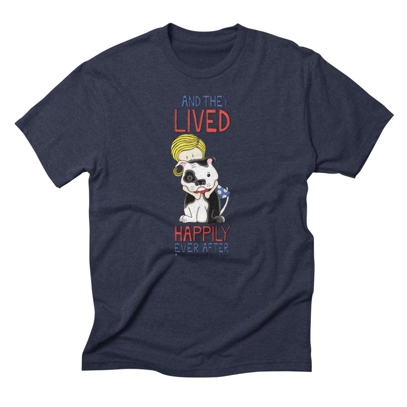 Happily Ever After Men's Triblend T-shirt by Pigdog