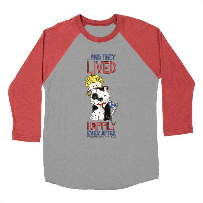 Happily Ever After Women's Baseball Triblend Longsleeve T-Shirt by Pigdog