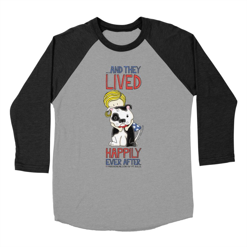 Happily Ever After Women's Baseball Triblend T-Shirt by Pigdog