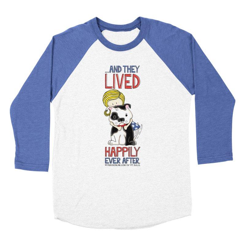 Happily Ever After Men's Baseball Triblend T-Shirt by Pigdog