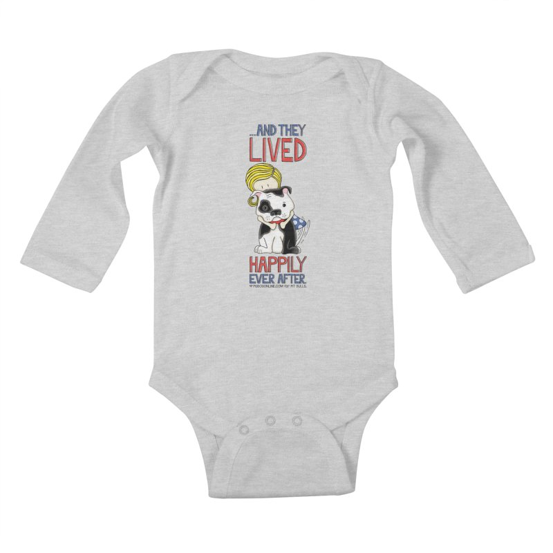 Happily Ever After Kids Baby Longsleeve Bodysuit by Pigdog