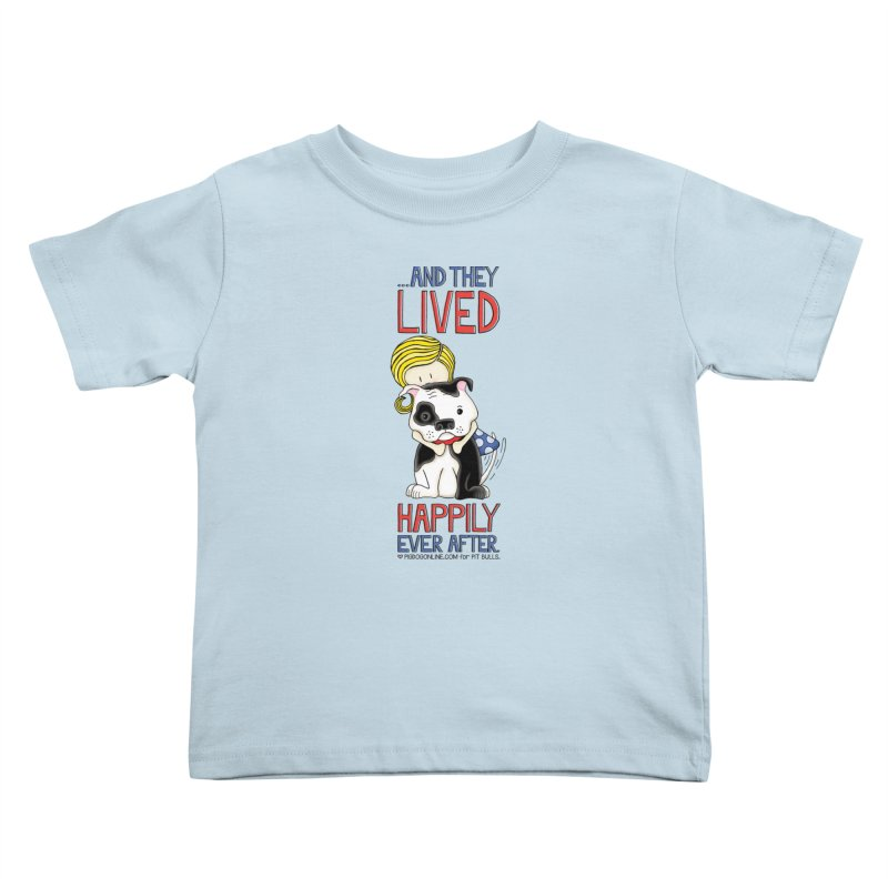 Happily Ever After Kids Toddler T-Shirt by Pigdog