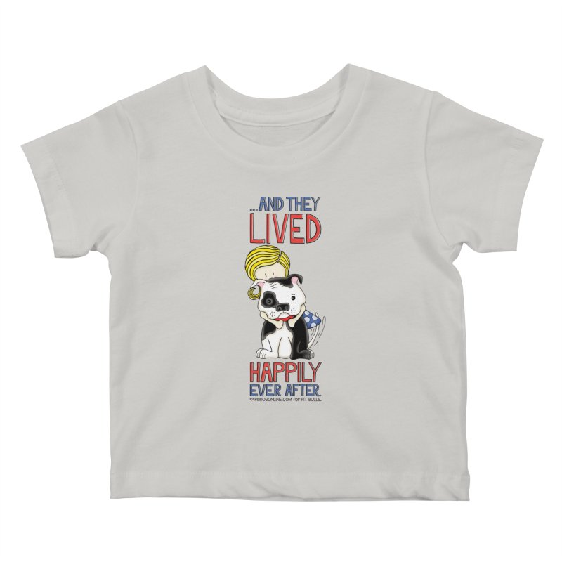 Happily Ever After Kids Baby T-Shirt by Pigdog