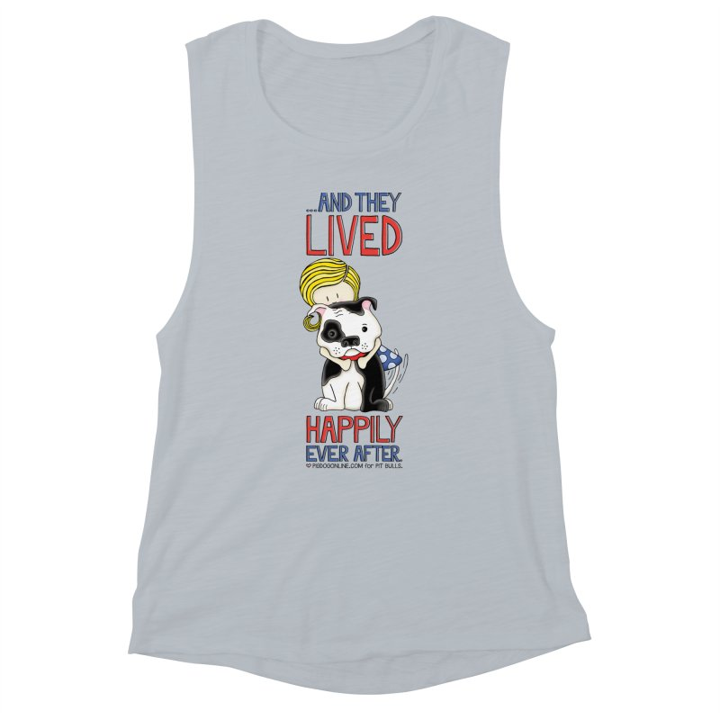 Happily Ever After Women's Muscle Tank by Pigdog
