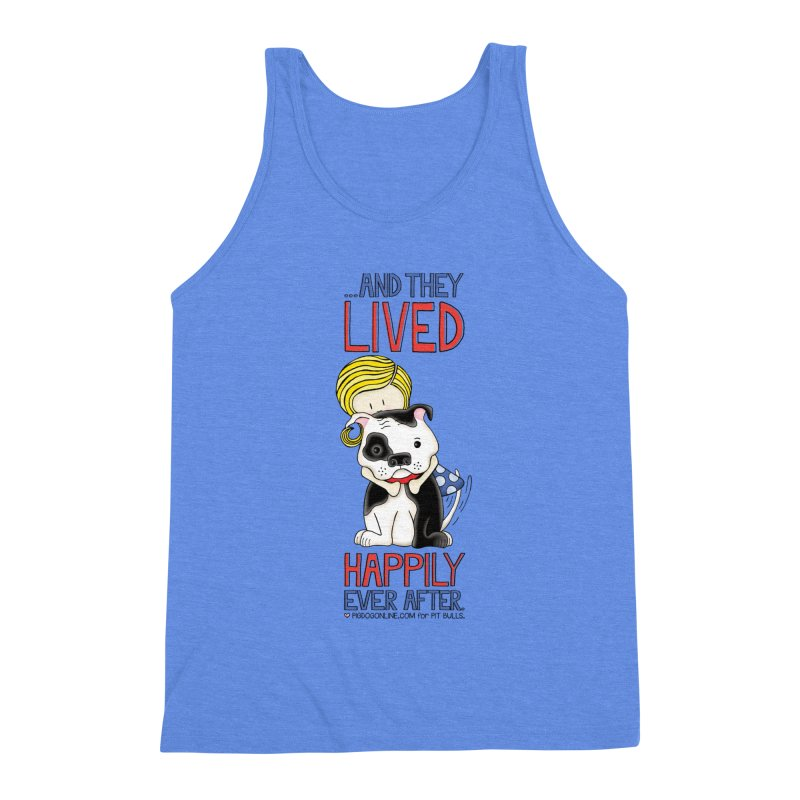 Happily Ever After Men's Triblend Tank by Pigdog