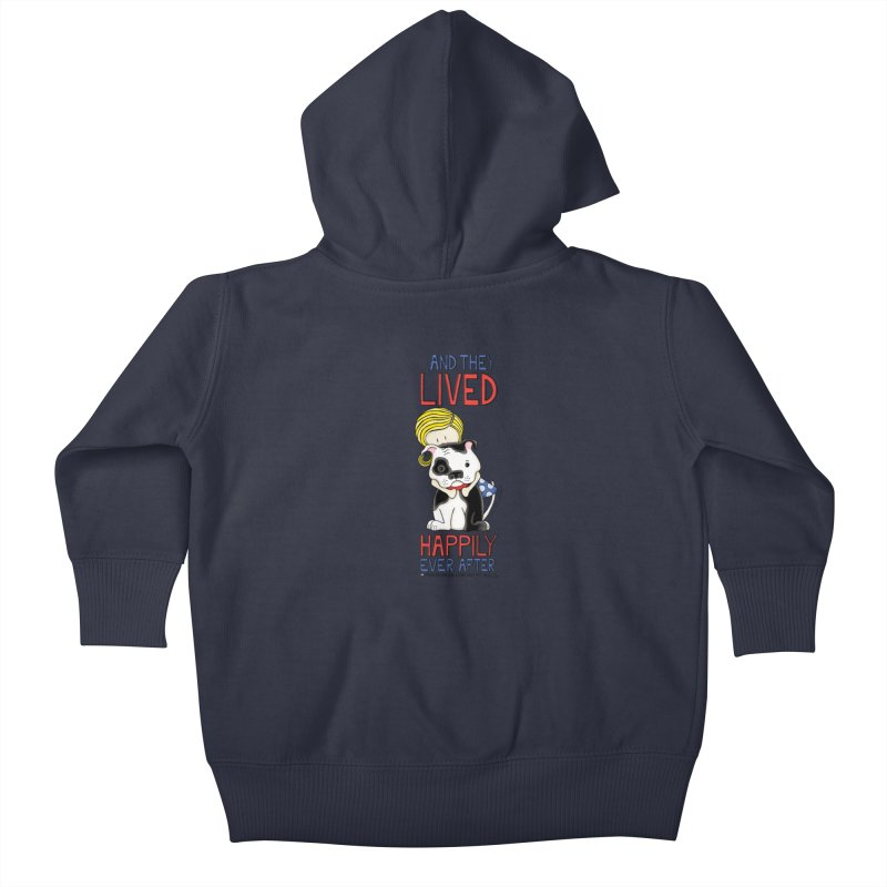 Happily Ever After Kids Baby Zip-Up Hoody by Pigdog