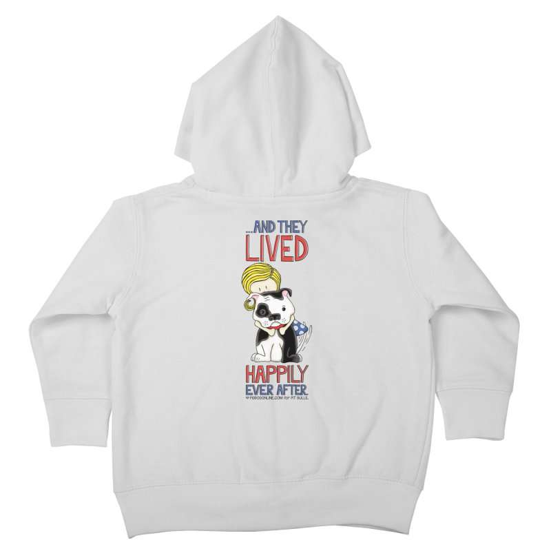 Happily Ever After Kids Toddler Zip-Up Hoody by Pigdog