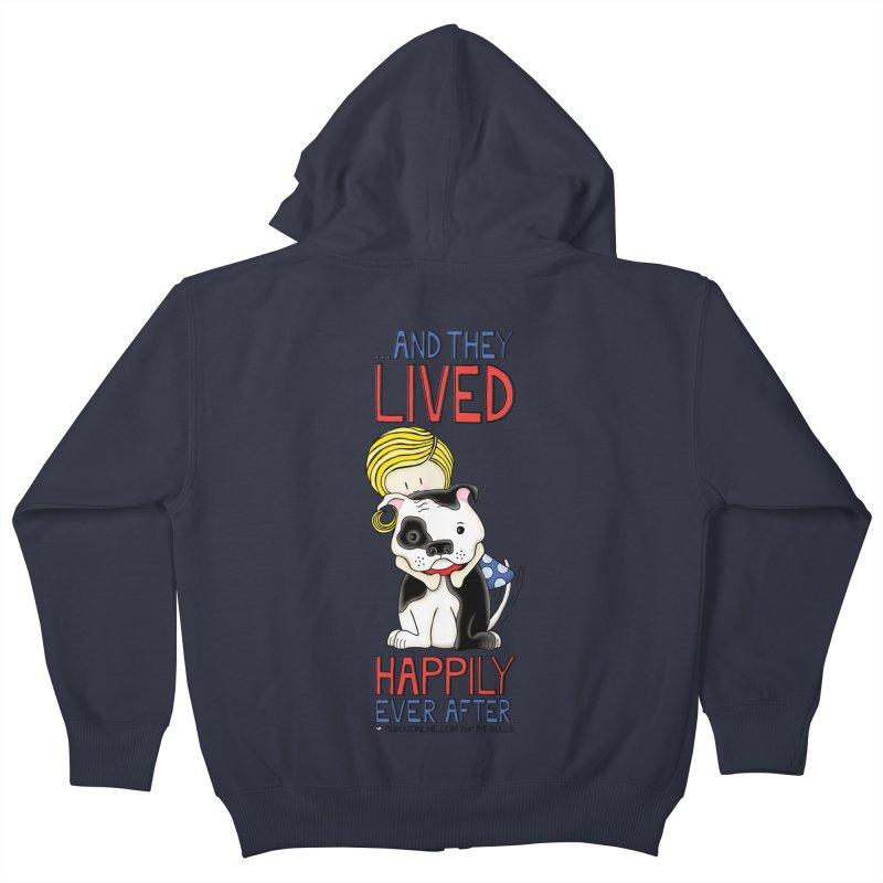 Happily Ever After Kids Zip-Up Hoody by Pigdog