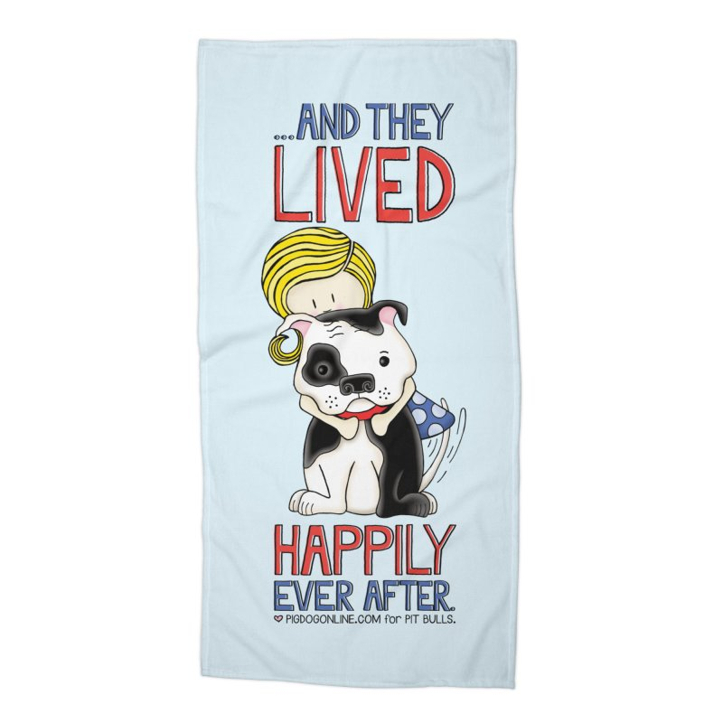 Happily Ever After Accessories Beach Towel by Pigdog