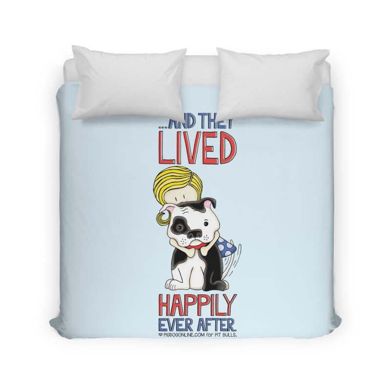 Happily Ever After Home Duvet by Pigdog