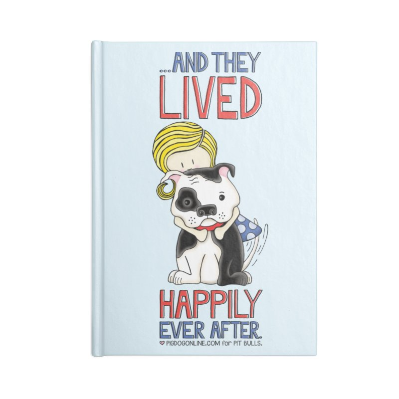 Happily Ever After Accessories Blank Journal Notebook by Pigdog